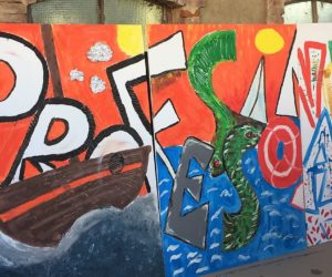 Team Building-Crazy For Team-Action Painting (1)